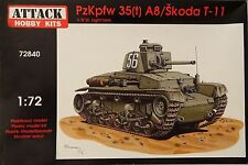 PzKpfw 35(t) A8/Skoda T-11 , Attack Hobby Kits, 1:72 , Plastikmodell , *NEU*