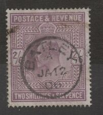 Ed Vii - Sg260. 2s 6d Lilac. Batley Cds with clear date. Cat £150+