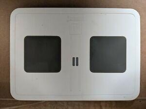 Trident Electra Qi Dual Wireless White Charging Pad w/ Kickstand