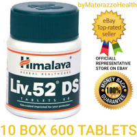 LIV 52 DS 10X600 Bottles Himalaya Liver Repair Dyspepsia Cold Stomach problems