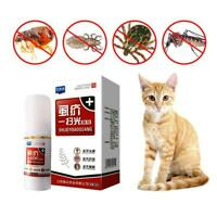 30mL Pet Dog Puppy Cat Insecticide Spray Anti-flea Flea Lice Insect Killer