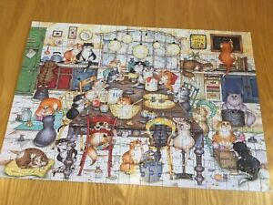 Gibsons 250xl Piece Jigsaw Puzzle Cat's Cookie Club Complete