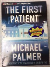 Michael Palmer The First Patient CD AUDIO BOOK