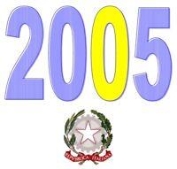 ITALIA Repubblica 2005 Singolo Annata Completa integri MNH ** Tutte le emissioni