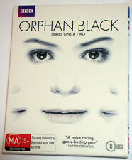 Orphan Black 1st & 2nd Series 1 & 2 - BBC Sci-Fi thriller - B blu-rays - posted