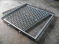 Medium Duty Galvanised Drain Stormwater Steel Gal Grate Frame 1200x1200  50mmD