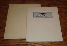 Original 1953 Bentley Portfolio Sales Brochure w Envelope & 6 Plates 53