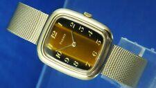 Vintage Retro Phenix Revue Mechanical Fashion Watch NOS 1970s New Old Stock