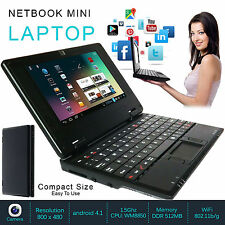 NEW 7″ NETBOOK MINI LAPTOP WIFI ANDROID 4GB NOTEBOOK PC CHEAP LAPTOP
