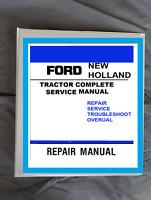 Ford New Holland  8160, 8260, 8360, 8560 Tractor Workshop Service Binder