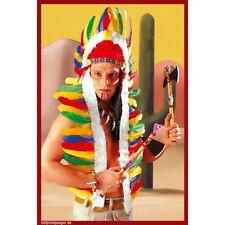 INDIANER FEDERKOPFSCHMUCK # Häuptling Apache Indianerschmuck Federschmuck 3306