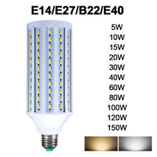 E40 E14 E27 B22 60W 150W LED Corn Light Bulb Replace 600W Lamp E40 6500K White