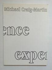 MICHAEL CRAIG-MARTIN, exhibition catalogue, Waddington gallery,1997