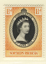 NORTHERN RHODESIA 1953 CORONATION  MNH