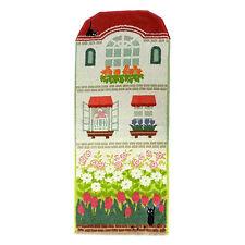 Kiki's Delivery Service Face Towel Walking in Flower Bed ❤ Studio Ghibli Japan