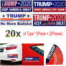 20X Trump 2020 Bumper Sticker Keep Make America Great Make Liberals Cry Again w7