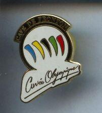 RARE PINS PIN'S .. OLYMPIQUE ALBERTVILLE 92 / CUVEE #6D