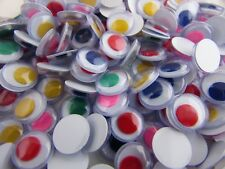 Joggle goggle eyes 10mm Colour glue on in packs of 20, 50,100, 500 & 1000