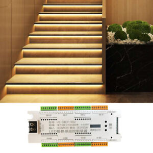 32 Channel Dimming Light led Motion Sensor controller for DIY Stair ladder light