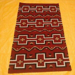 Hand Woven Wool Rug Turkish Navajo Kilim Dhurrie Afghan Oriental Area Rug 3'X5'