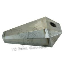 2.2Gal Flat Prisim Gas Tank Sportster XS650 CB750 Chopper Bobber Coffin Ironhead