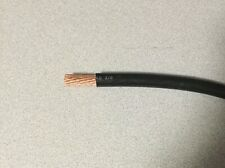 2/0 AWG 00 Gauge SAE Battery Cable Black Rated 60 Volts Multi-Strand by the foot