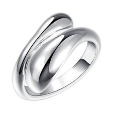 Popular Simple Design Unisex Without Stone Plated Silver Jewelry Opening CG