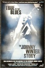 Johnny Winter True Blues: The Johnny Winter Story 2014 Promo Poster