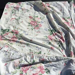 Full Sized Fitted Sheet Wamsutta Belle Rive Floral