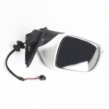 White Left Driver Side Mirror Electric Foldable With Heated For AUDI Q5 2009-15