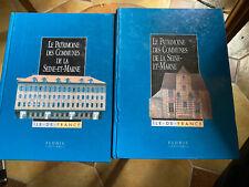 livre Le Patrimoine Des Communes De La Seine Et Marne 2 Volumes