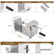Potato Stainless Steel Mannual Twister Machine Cutter Slicer Chips Machine h001