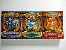 World of Warcraft TCG: Complete Dungeon Deck Series + 150 Treasure Cards