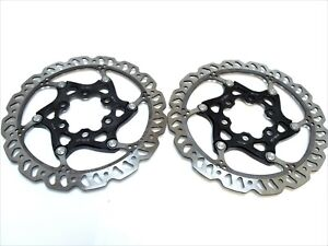 Bicycle road, race  Floating Brake Rotor Bike Brake Disc140mm Pair