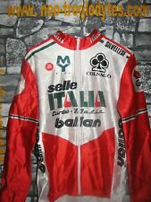 Vintage Cycling jersey shirt '80s Selle Italia Colnago maglia bici ciclismo