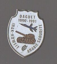 Pin's Armée / opération daguet (guerre du golfe) / Irak Koweit Arabie Saoudite