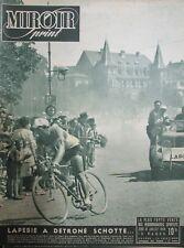 CYCLISME TOUR DE FRANCE de 1948 ÉTAPES  LAUSANNE MULHOUSE STRASBOURG