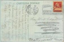 89948 - SWITZERLAND - Postal History - POSTMARK 1925 Medicine RED CROSS Deafmute