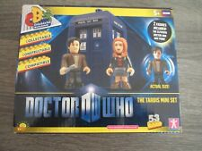 Doctor Who Character Building THE TARDIS MINI SET MINT CONDITION UNUSED