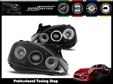 FARI ANTERIORI HEADLIGHTS LPOP29 OPEL CORSA C 2000-2004 2005 2006 ANGEL EYES