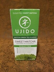 Ujido Drink Mix, Sweet Matcha, 10 x 20G Packets, EXP:10/22 w/ Monk Fruit