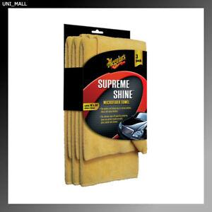 Meguiars New X2020 Supreme Shine Microfiber Towels (3 Pack)