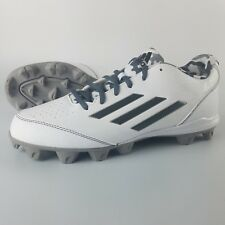 Adidas Wheelhouse 3 Softball Cleats Women's Size 9 White Camo Grey AQ7843