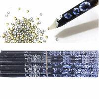 Wax Resin Pencil Rhinestone Picker Up Gem Jewel Bead Tool Nail Craft Art W9Q6