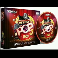 Zoom Karaoke CDG musicales Pop Caja 6 CDG 133 hits, Broadway, West End películas