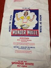 Wonder White 10 lb. cotton flour sack