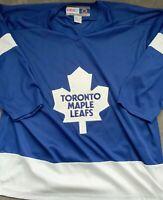 Toronto Maple Leafs Blue Jersey CCM Adult XL
