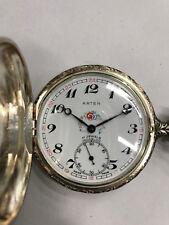 Orologio da tasca cipolla ARTEN Suisse Made anni 60 a carica manuale, cacciatore