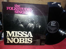 33 GIRI LP THE FOLKSTUDIO SINGERS /MISSA NOBIS