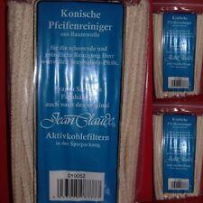 3x100 konische Pfeifenreiniger Jean Claude aus Baumwolle